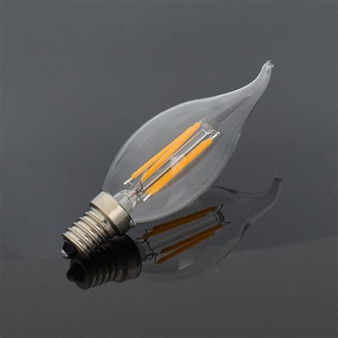 round led light bulbs e27 e14 e12 e26 dimmable edison filament light led bulbs