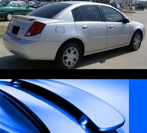 saturn ion dr   factory style rear spoiler