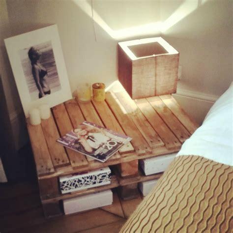 chambre palette déco chambre avec palette