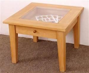 Table Basse En Pin : table basse de salon en pin table massif meuble ~ Teatrodelosmanantiales.com Idées de Décoration