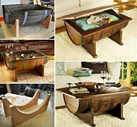 home design diy wonderful diy whiskey barrel coffee table