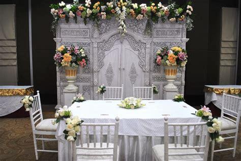 dekorasi akad nikah sederhana  surabaya