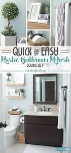 Rustic, Bathroom, Refresh, Source, List