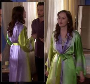 pajamas blair waldorf gossip girl robe nightwear With robe gossip girl