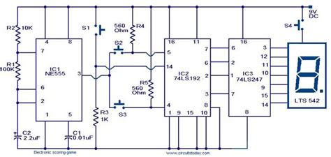 Counters Electronic Circuits Diagram Electronics