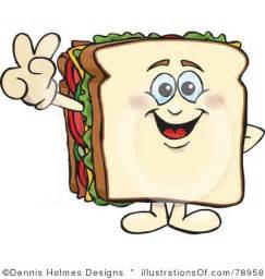 Cartoon Sandwich Clip Art