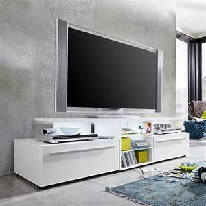 Tv Möbel Lowboard : tv lowboard version in wei hochglanz unterteil unterschrank tv board tv m bel ebay ~ Markanthonyermac.com Haus und Dekorationen