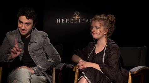 milly shapiro youtube alex wolff and milly shapiro of hereditary name their