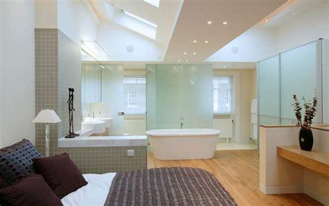 open plan bedroom 25 best ideas about open plan bathrooms on