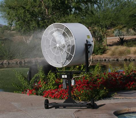 outdoor cooling rentals air conditioners misting