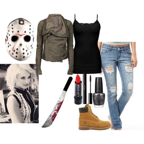 jason voorhees costume created by iloveclothesandfashion