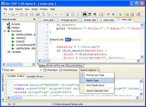 php website 20 best php ides for web developmnet hative