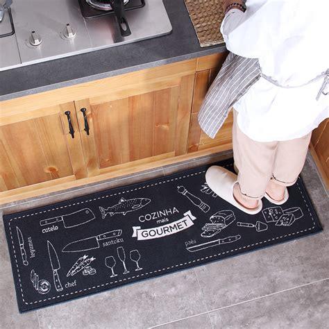 rubber mats for kitchen floor honlaker polypropylene kitchen mats door entry rug living 7832