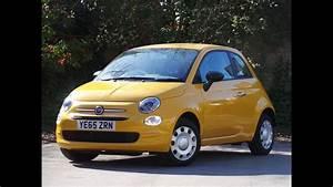 Fiat 500 1 2 : 2016 65 fiat 500 1 2 pop 3dr in yellow youtube ~ Medecine-chirurgie-esthetiques.com Avis de Voitures