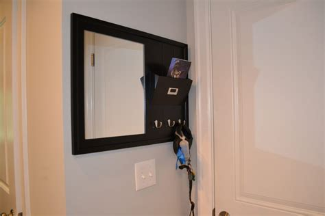 entryway hooks mirror command center  emelia