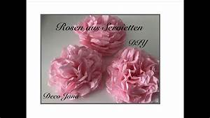 Rosen Aus Servietten Basteln : diy rosen aus servietten basteln pfingstrose edle tischdeko f r edle anl sse deko jana ~ Frokenaadalensverden.com Haus und Dekorationen