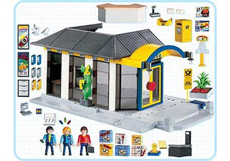 bureau de poste castelnau le bureau de poste 4400 a playmobil 174