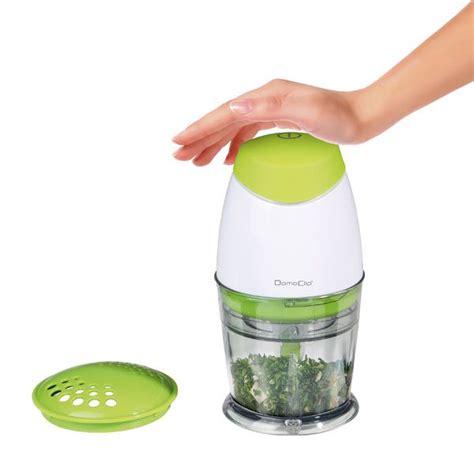 mathon cuisine mini hachoir électrique vert 25 cl 160 w domoclip