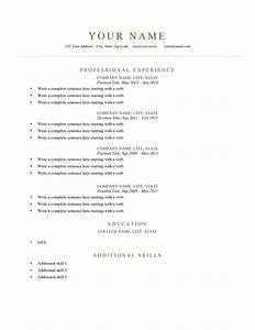 80 free professional resume examples by industry for Free resume examples