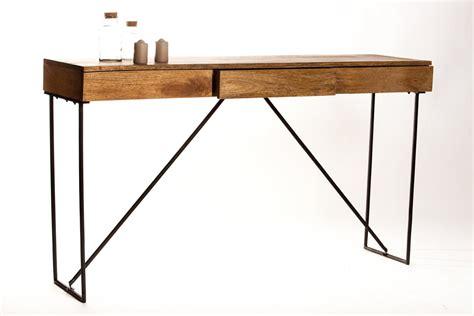bureau console design bureau console tiroir