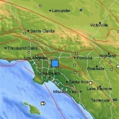 tremblement de terre de magnitude 4 4 pico rivera grand