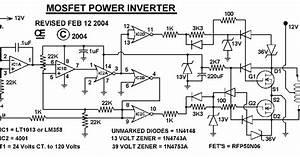 Mosfet 1000w Power Inverter Schematic