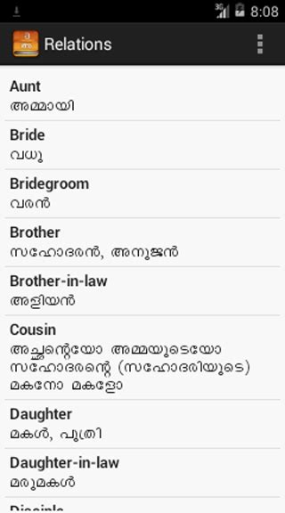 malayalam useful words android apps on play