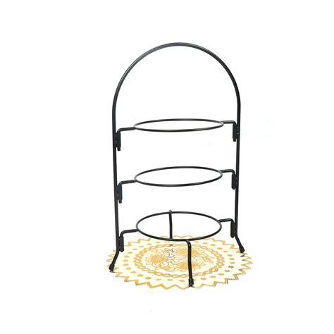 upright  tier dinner plate rack party food server display buy dinner plate rack afternoon tea