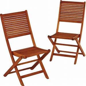Chaise Bois Exterieur : chaise exterieur bois l 39 univers du jardin ~ Teatrodelosmanantiales.com Idées de Décoration
