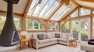 Prix D Une Veranda : prix d 39 une extension en bois co t de construction ~ Dallasstarsshop.com Idées de Décoration