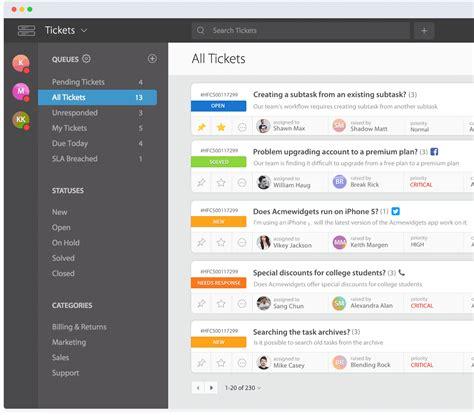 Best Service Software Help Desk Ticketing System Support Ticket System Happyfox