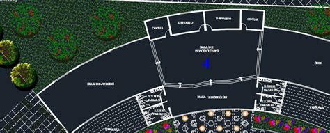recreational water park  dwg design plan  autocad