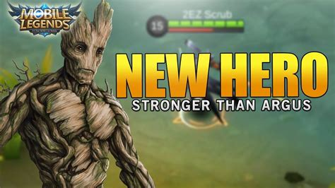 Mobile Legends New Hero Is Stronger Than Argus! How Is