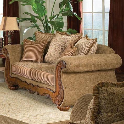 traditional chenille living room savonna u140 light brown