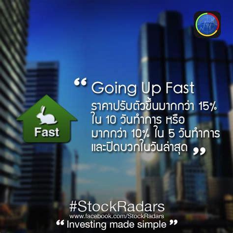 Going Up Fast #StockRadars #Performance #RadarsDescription