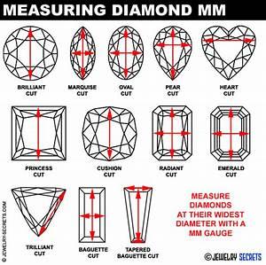 Oval Diamond Measurement Chart Diamond Gem Mm Measurement Chart Jewelry Secrets