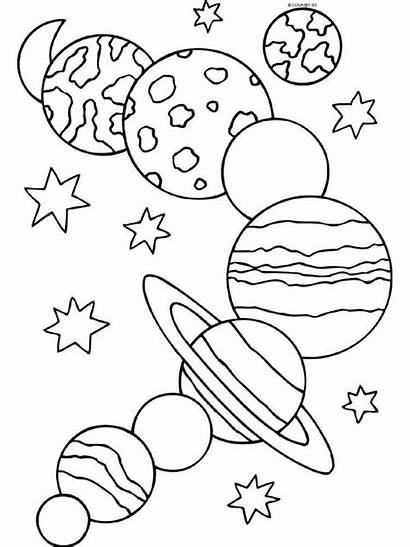 Solar Coloring System Pages Educational Printable Recommended