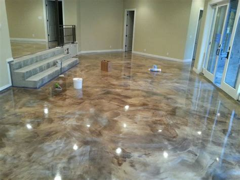 epoxy floor    america house epoxy overlay