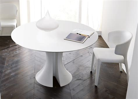 modern white kitchen table modern white round dining table brucall com