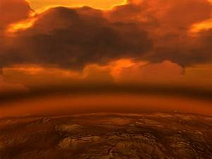 ESA Science & Technology: Artist's impression of Venus Surface