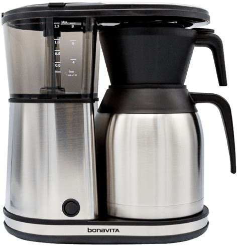 Best of all, you can also purchase a manual pour over adaptor kit and use the breville precision with your kalita or hario pour over dripper for ultimate. Buy Bonavita 8-Cup Carafe Coffee Brewer - Groundwork ...