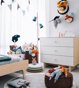 1001 conseils et exemples de deco interieur d With tapis chambre enfant avec canapé lit scandinave