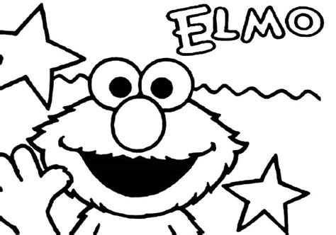 95 Coloring Page Elmo Pages Sheets