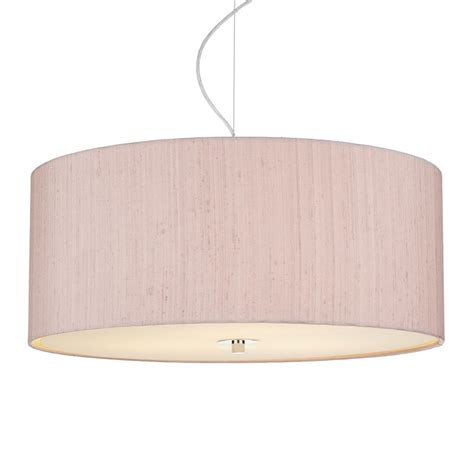 dupion silk drum shade cotton candy imperial lighting