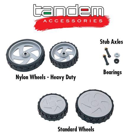 TANDEM Lawn Industries :: Spares & Accessories