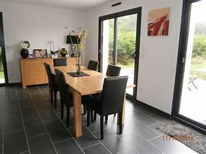 deco cuisine avec meuble gris With deco cuisine avec meuble salle a manger blanc et gris