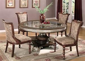 Dining Room inspiring elegant round dining room sets How
