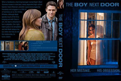 the boy next door dvd the boy next door 2015 r0 custom cover label