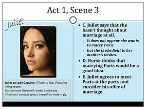 Romeo and Juliet Act 1 Notes