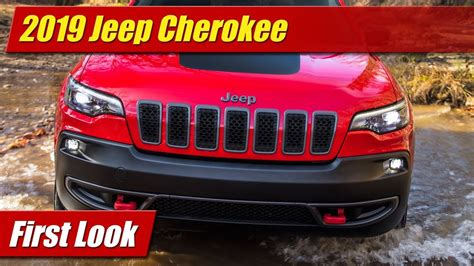 First Look 2019 Jeep Cherokee Testdriventv